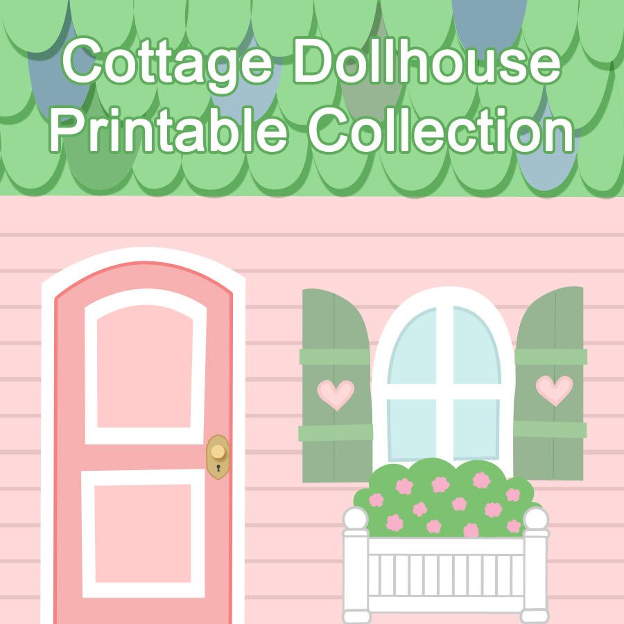 Free Printable Paper Dollhouse Furniture Templates   Download Latest ...