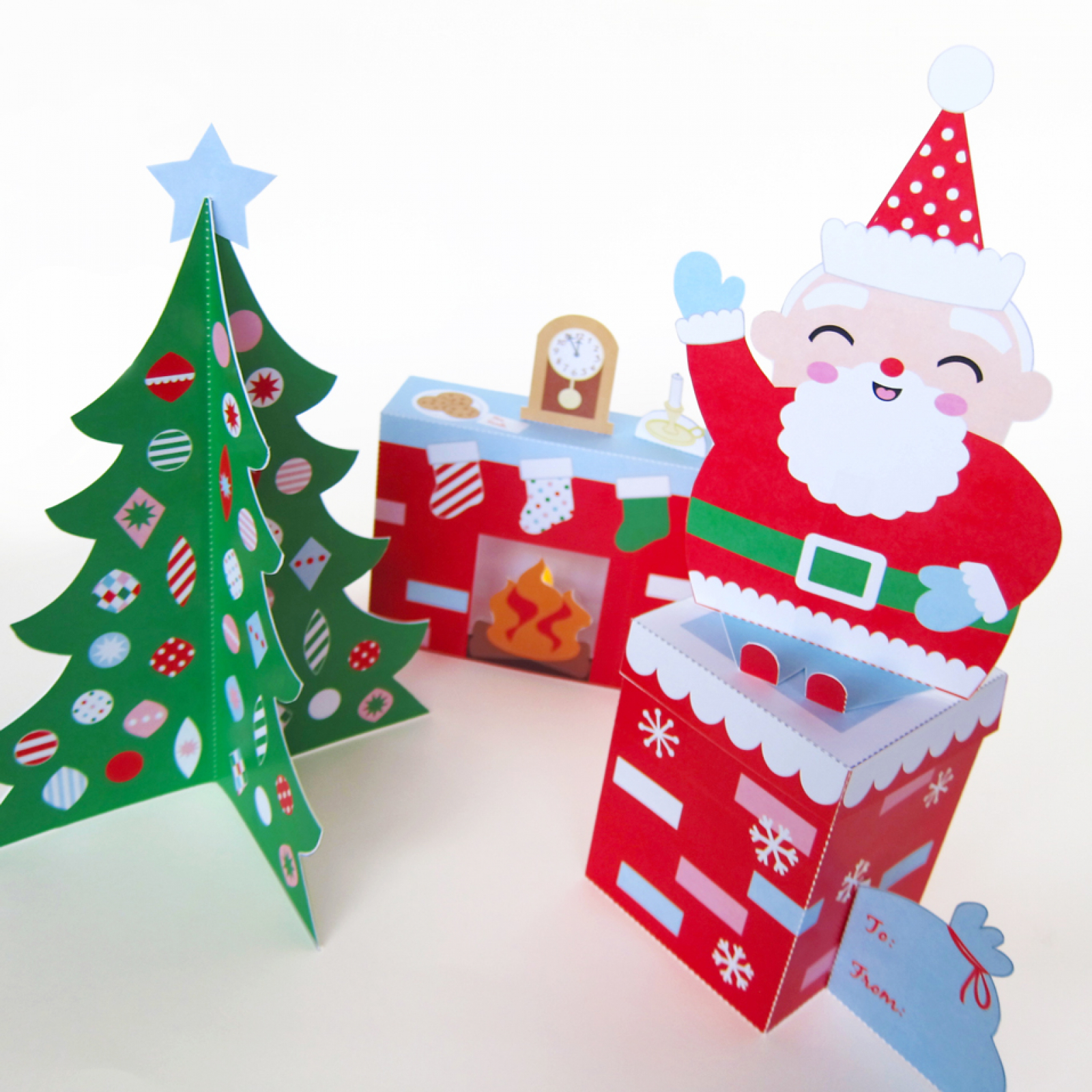 Cozy christmas paper craft decorations fantastic toys cozy christmas paper craft decorations jeuxipadfo Images
