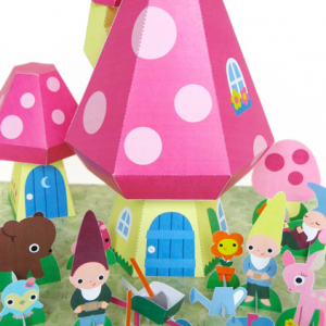 Gnome Mushroom Cottage