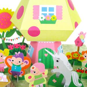 Fairy Mushroom Cottage