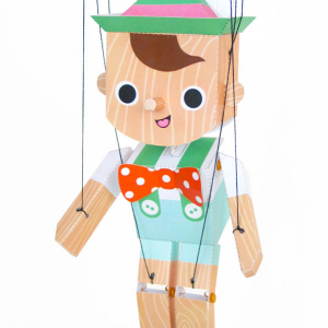 Pinnochio Paper Marionette