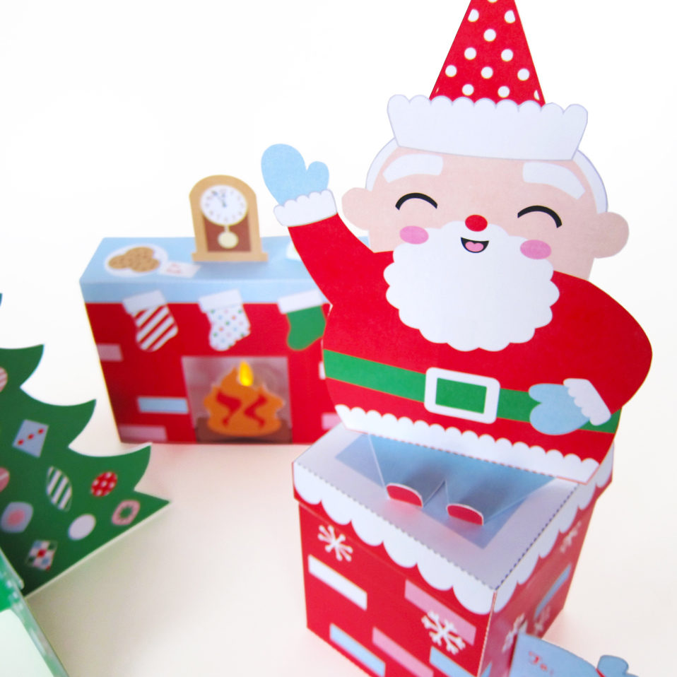paper christmas decorations instructions