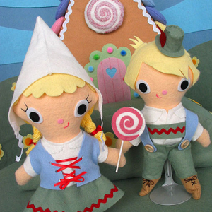 Hansel and Gretal Dolls