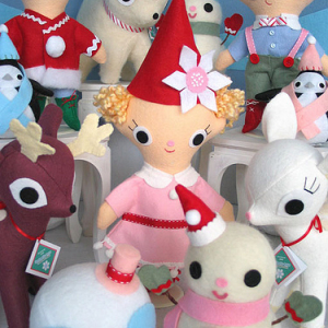 Christmas Soft Toy Collection