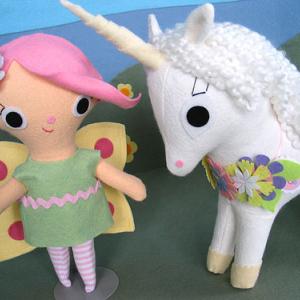 Fairy Doll and Unicorn
