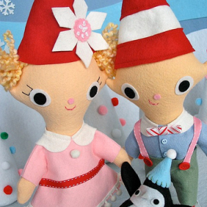 Christmas Elf Dolls