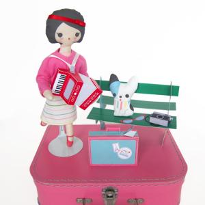 Parisian Girl Cloth Doll