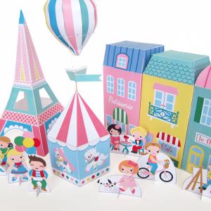Paris Neighborhood Play Set