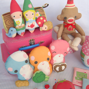 Cut and Sew Soft Toy Collection